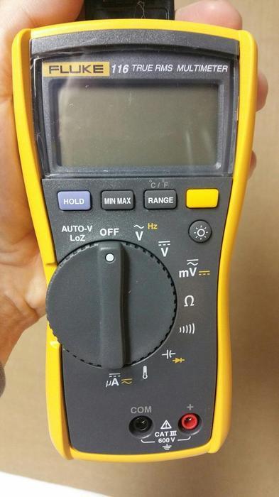 The Best Hvac Clamp Meter : Euc fluke hvac combo kit includes multimeter