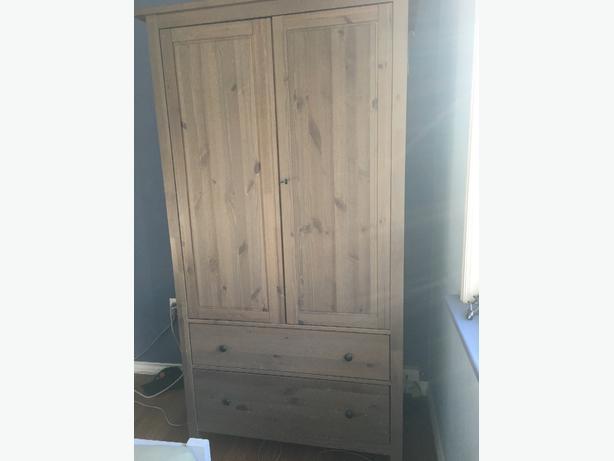 IKEA Hemnes wardrobe (grey brown) Saanich, Victoria MOBILE