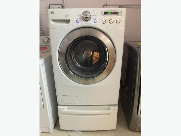 pedestal washing machine