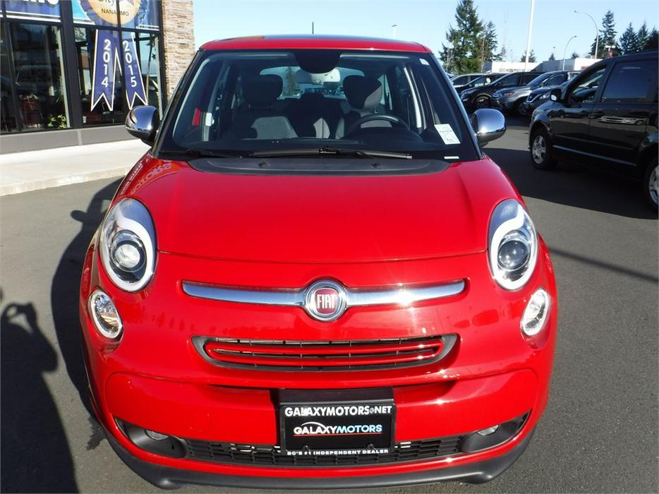2015 fiat 500l lounge leather int navigation alloy wheels north nanaimo nanaimo mobile. Black Bedroom Furniture Sets. Home Design Ideas