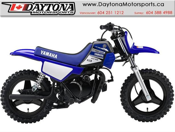 Sold 2017 yamaha pw50 dirt bike 2 stroke surrey for 2017 yamaha pw50