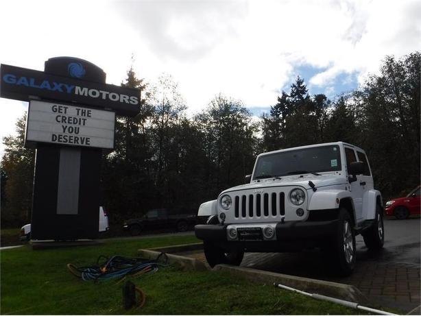 2015 Jeep Wrangler Sahara - 4WD, Navigation, Satellite Radio