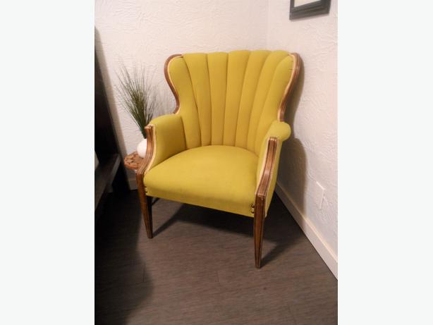 Awesome vintage arm chair esquimalt view royal victoria for Awesome classic chairs