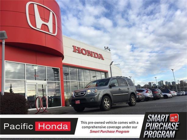 2011 honda pilot touring 1 owner all service at 1 honda for Honda pilot dealership