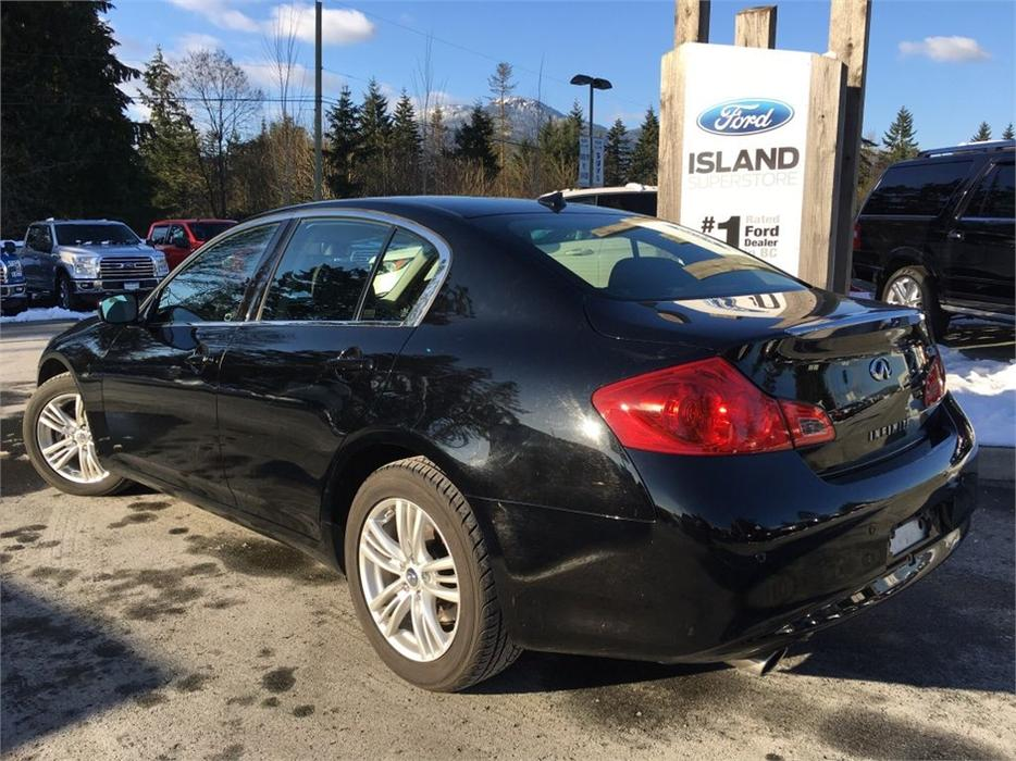 2012 Infiniti G37 Sedan Heated Seats Awd Outside Nanaimo