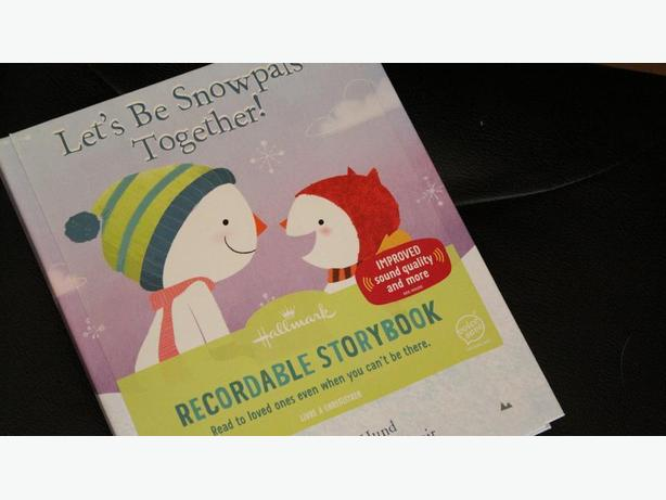 RECORDABLE STORYBOOK[ LETS BE SNOWPALS TOGETHER]