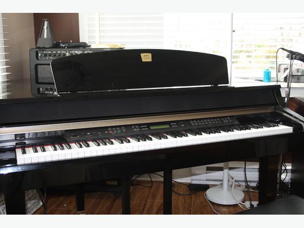 Yamaha clp 295gp grand piano saanich victoria for Yamaha clp 295