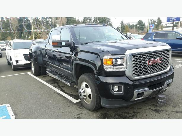 used 2015 gmc sierra denali 4x4 crew cab for sale in parksville outside comox valley courtenay. Black Bedroom Furniture Sets. Home Design Ideas