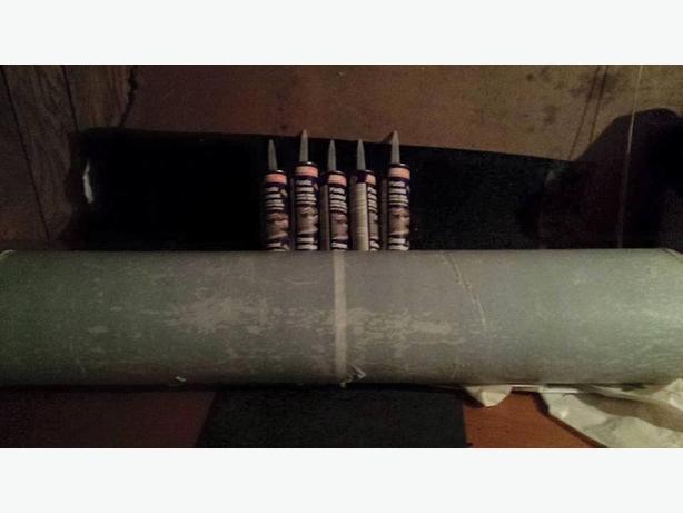 Rolled Roofing 5 Tubes Plastic Cement North Regina Regina