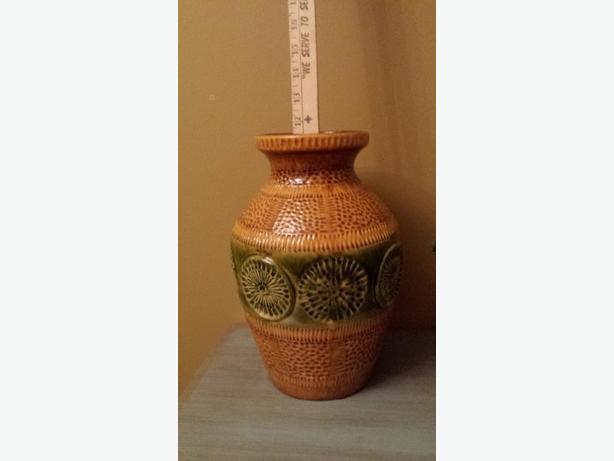 Mid Century Modern West German Vintage Ceramic Vase