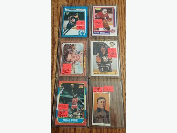 Log In Needed 12 Gretzky Orr Lemieux Roy Jordan Honus Wagner Rookie Cards