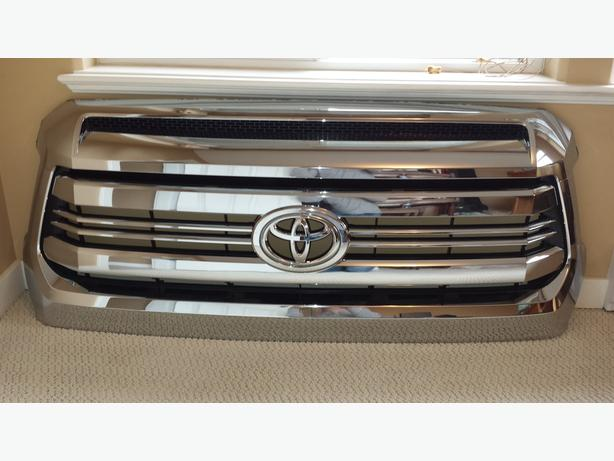2016 Toyota Tundra 1794 Edition All Chrome Front Grill And
