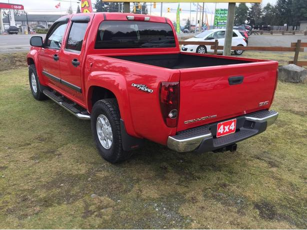 2005 gmc canyon sle crew cab off road 4x4 good looker outside victoria victoria. Black Bedroom Furniture Sets. Home Design Ideas