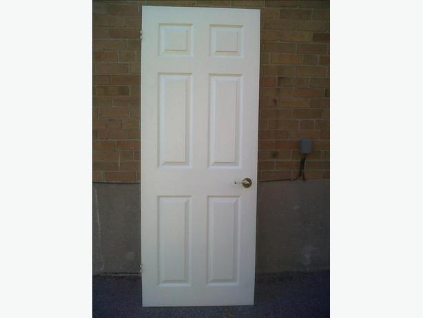SIX-PANEL INSIDE WHITE DOORS