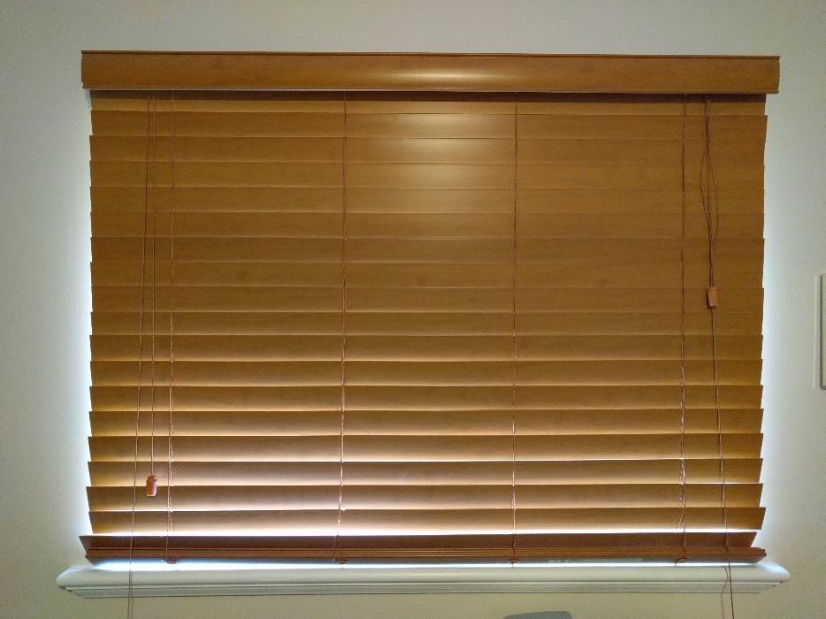 Nice Composite Wood Blinds Saanich, Victoria