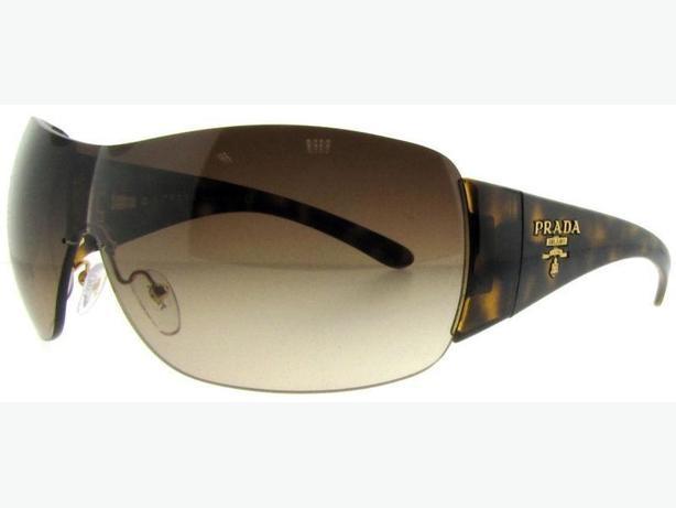 6724b7c67af0 ... uk prada milano spr 22m 2au 6s1 havana brown gradient shield sunglasses  1c31f 5df55