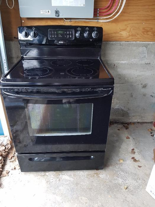 Flat Top Stove ~ Kenmore flat top stove saanich victoria