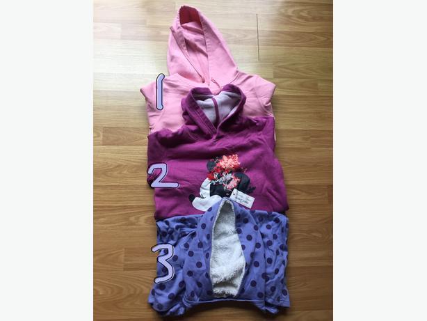A Bundle of Girl Soft Warm Cute Hoodies