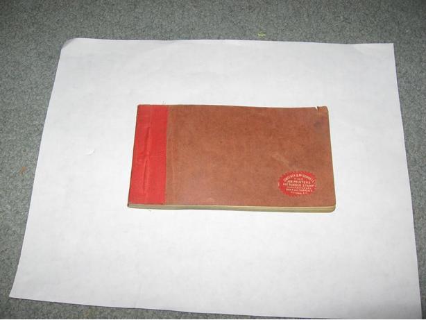 Silver Springs brewery victoria BC reciept book C1901-10