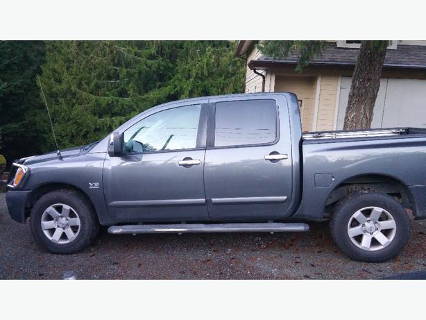 Nissan Titan Le Auto 4x4 Crew Cab Leather West Shore