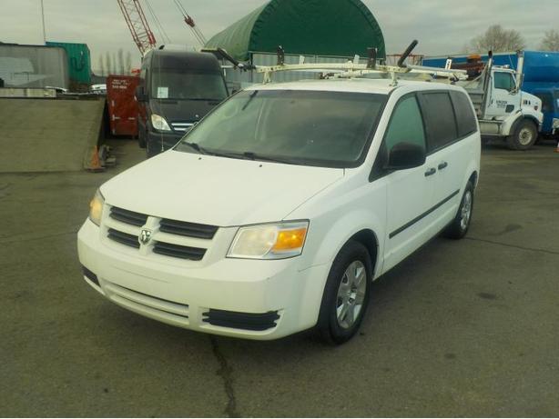 2010 Dodge Grand Caravan Cargo Van W Shelving Amp Ladder Rack