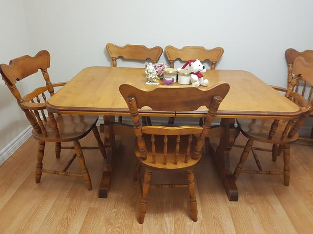 solid wood dining room set gloucester ottawa