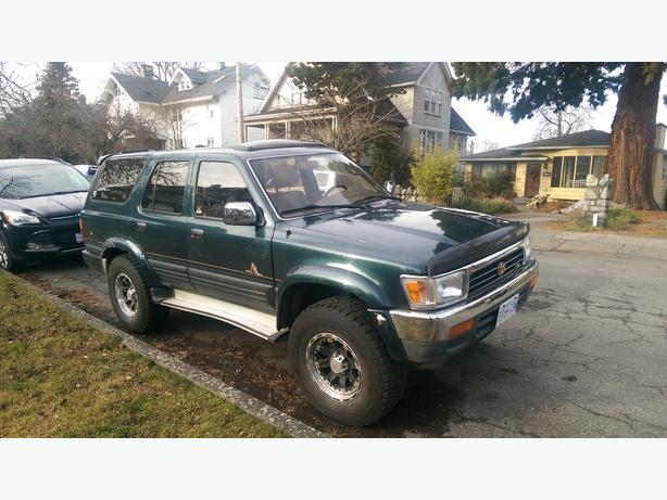 1995 toyota 4runner sequoia edition for sale must be gone by april 14th victoria city victoria. Black Bedroom Furniture Sets. Home Design Ideas