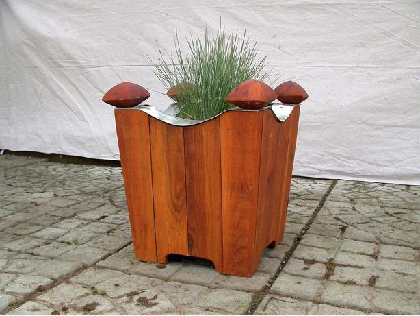 Cedar Planters, Wood Planter