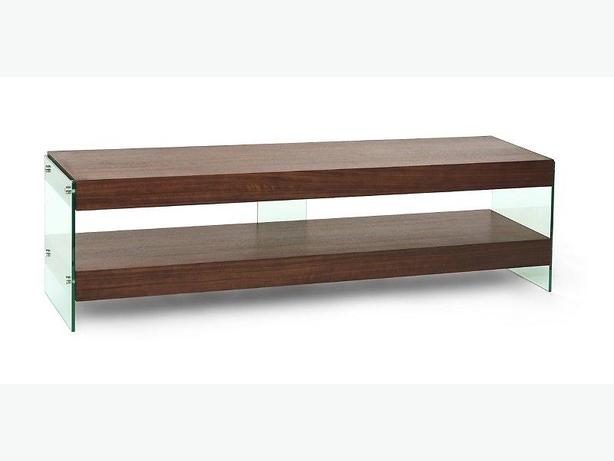 Structube Wood & Glass Console