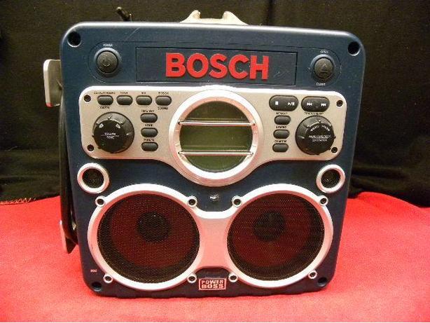 bosch 18 volt power box job site radio and charger victoria city victoria. Black Bedroom Furniture Sets. Home Design Ideas