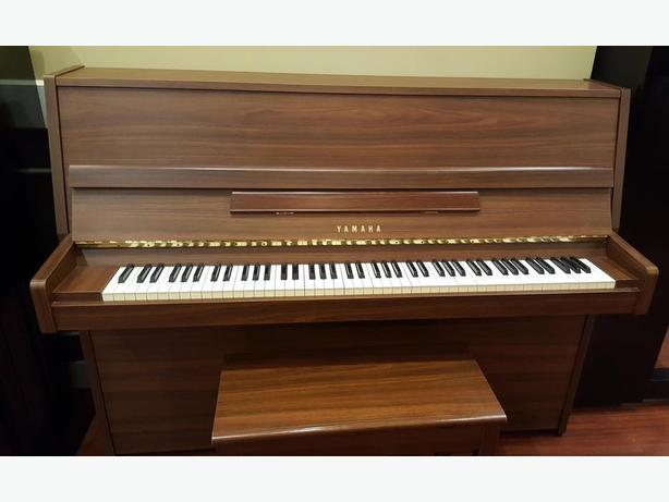 Pre owned yamaha lu 201 in satin walnut west shore for Yamaha piano store winnipeg