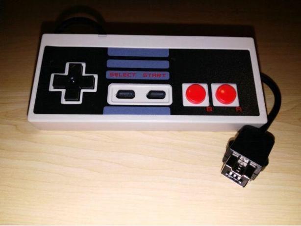 New Nintendo Classic Mini Controller