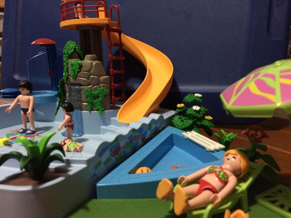 Swimming Pool Playmobil Set Central Nanaimo Nanaimo