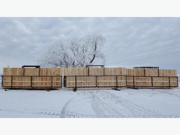 Windbreak Panels Cow Calf Shelters Swift Current Regina