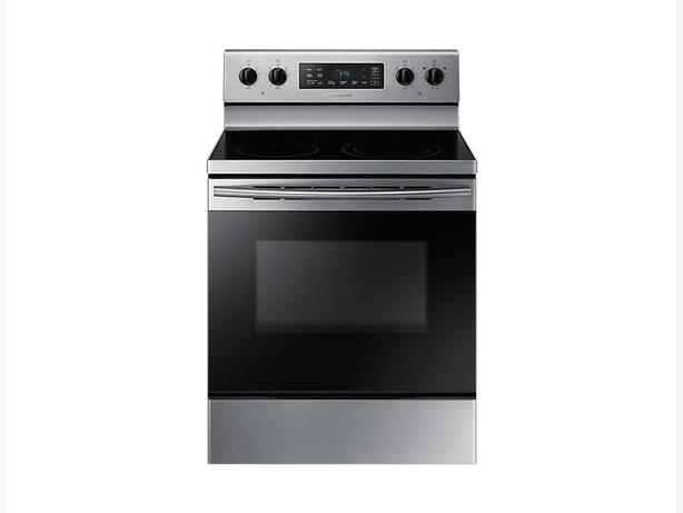 how to clean samsung stove top