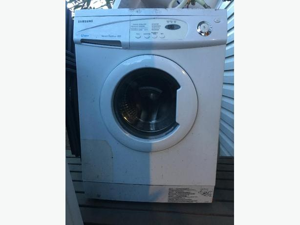 free non working apartment sized front load washing machine esquimalt