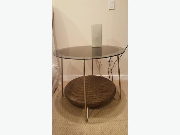 2 x ikea night stand coffee table side table 30 for Metal nightstand ikea