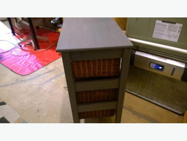 Rock Bottom Price Rustic Wicker Basket Storage Drawers West Shore Langford Colwood Metchosin