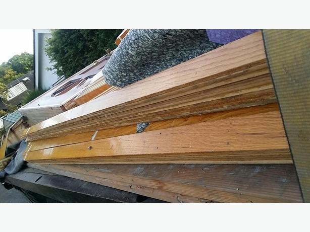 2 inch by 1/4 strip top nail oak flooring