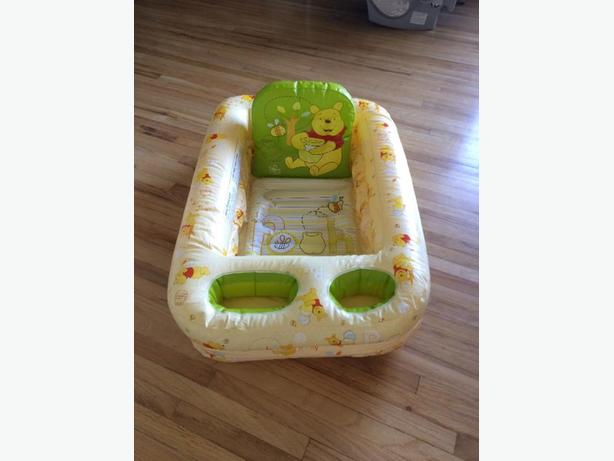 inflatable baby bathtub central saanich victoria. Black Bedroom Furniture Sets. Home Design Ideas