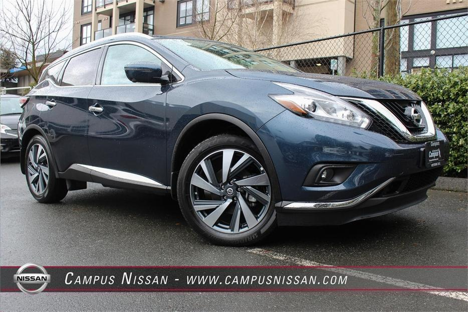 2016 nissan murano platinum awd victoria city victoria. Black Bedroom Furniture Sets. Home Design Ideas