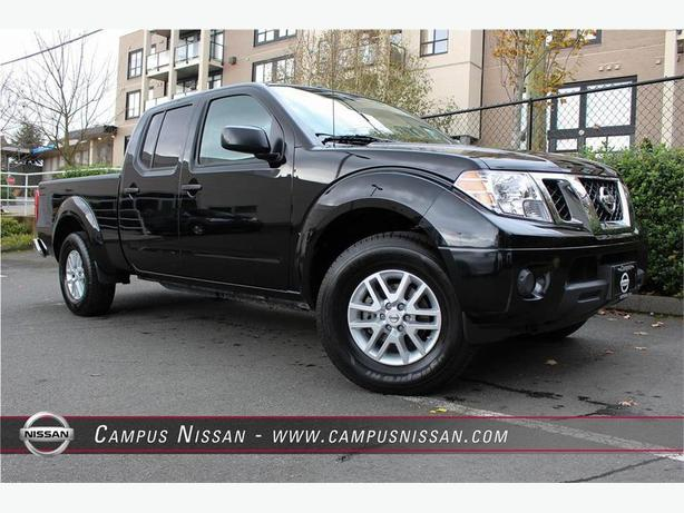 2016 nissan frontier crew cab sv 4x4 outside nanaimo nanaimo. Black Bedroom Furniture Sets. Home Design Ideas