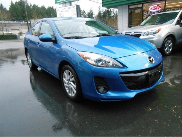2013 Mazda Mazda3 GS + Luxury Sedan (Leather)