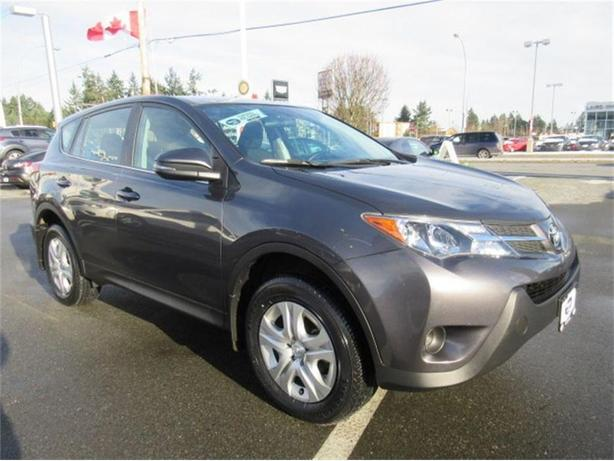 2015 toyota rav4 le awd warranty like new outside victoria victoria. Black Bedroom Furniture Sets. Home Design Ideas