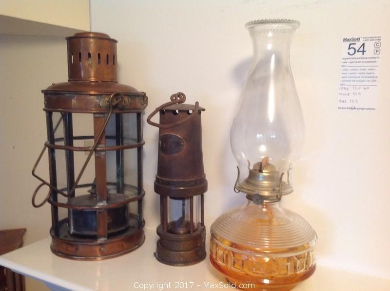 Antique and Vintage Lamps Central Nanaimo, Nanaimo