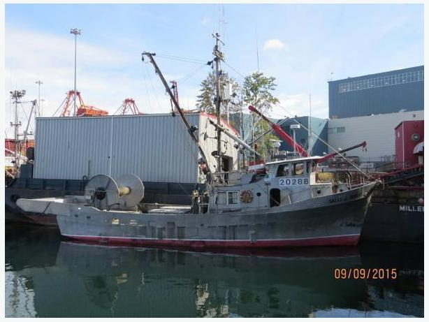 Commercial Fishing Boat For Sale - 1971 67' Seiner - Salli J. Rogers