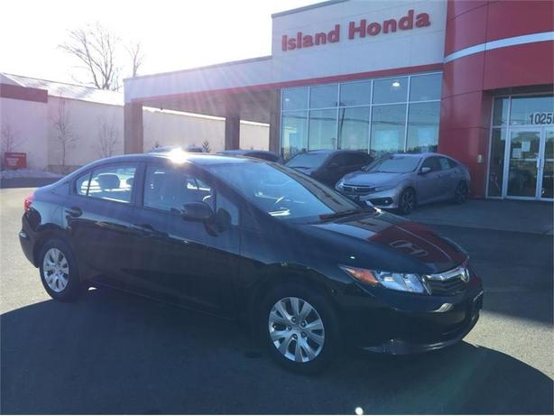 2012 Honda Civic LX | AUTO | REMOTE ENTRY | ONE OWNER