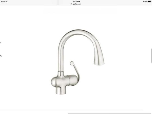 Grohe Ladylux Cafe 39 Kitchen Faucet Campbell River Comox Valley