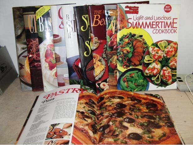 10 High Gloss Cookbooks
