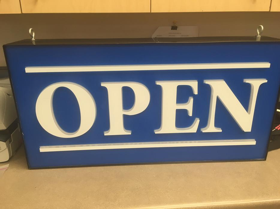 Open Sign For Sale Kitchener